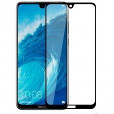 Защитное стекло 3D Huawei Honor 8A (чер)