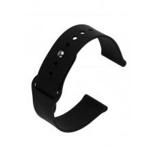 Силиконовый ремешок для Apple Watch 38/40mm черный