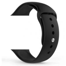 Силиконовый ремешок для Apple Watch 42/44mm черный
