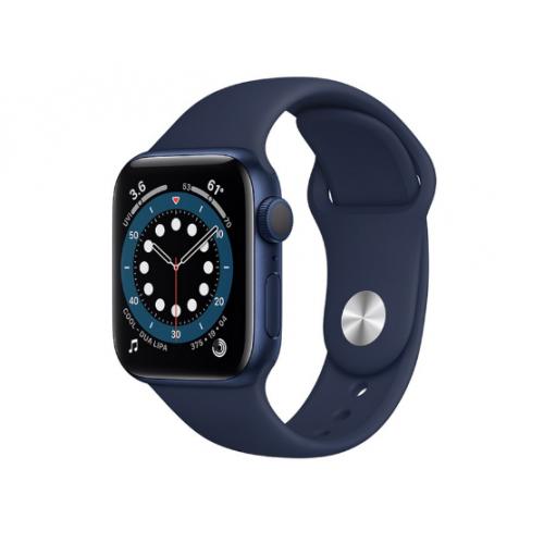 Часы Apple Watch Series 6 GPS 40mm Aluminum Case with Sport Band (Синий/Темный ультрамарин)