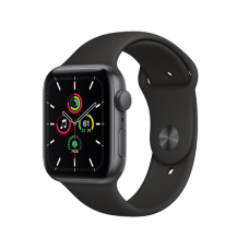 Часы Apple Watch SE GPS 44mm Aluminum Case with Sport Band (Серый космос/Черный)