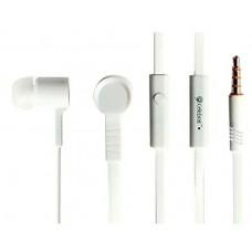 Наушники Celebrat D2 с микрофоном Белые