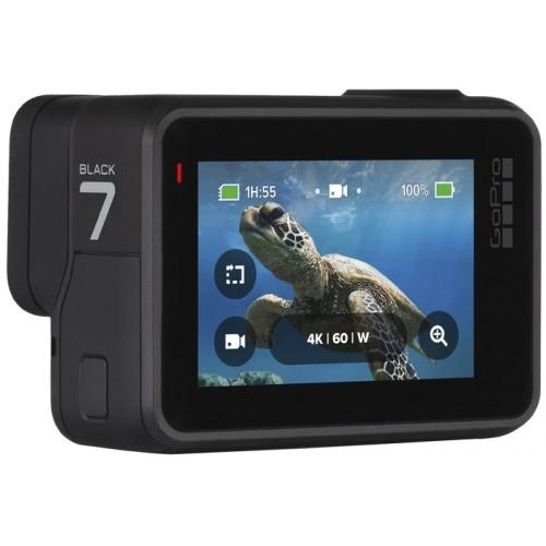 Экшн-камера GoPro HERO7, Black Edition (CHDHX-701)