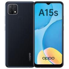 Смартфон Oppo A15S, 4.64Gb, Black