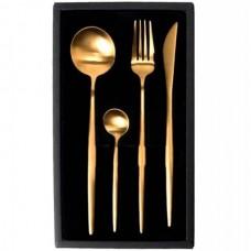 Набор столовых приборов Maison Maxx Stainless Steel Set Gold